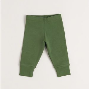 PREORDER // organic cotton olive pants
